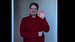 File:American Sign Language demo - Travis Dougherty.ogv