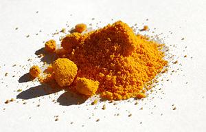 Ammonium cerium(IV) sulfate - Image: Ammonium cerium(IV) sulfate sample