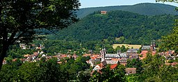Amorbach mit Gottharsberg