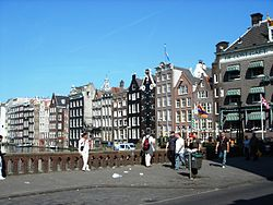 Amsterdam wikivoyage guida turistica di viaggio for Centro di amsterdam