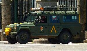 Military Emergencies Unit - Image: Aníbal UME