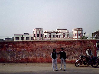 Anand Bhawan School - Outside view of Anand Bhawan High School.
