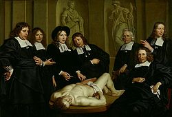 Anatomy Lesson by Dr. F. Ruysch 1670 Adriaen Backer.jpg
