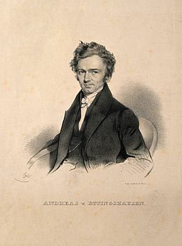 Andreas von Ettingshausen. Lithograph by F. Eybl, 1834. Wellcome V0001791