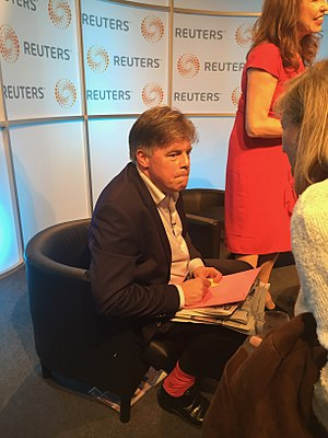 Andrew Rawnsley - At London Press Club event in 2017