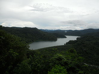 Renewable energy in the Philippines - Angat Dam, a major hydropower facility in the Philippines