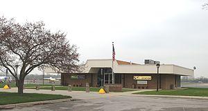 Ann Arbor Municipal Airport - Airport passenger terminal