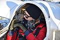 Anna Buchta (glider pilot), SZD-50-3 Puchacz A SP-3488, Gliwice 2017.12.30 (01).jpg