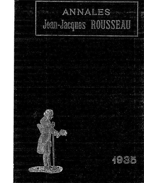 File:Annales de la société Jean-Jacques Rousseau, tome 24.djvu