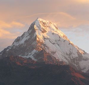 Annapurna South - Image: Annupurna South