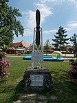 Antal Lányi memorial, Port of Fonyód, 2016 Hungary.jpg