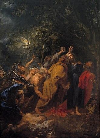 The Betrayal of Christ (van Dyck, Madrid) - Image: Anthonis van Dyck 007