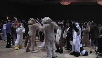 Anthrocon - Image: Anthrocon 2005dance