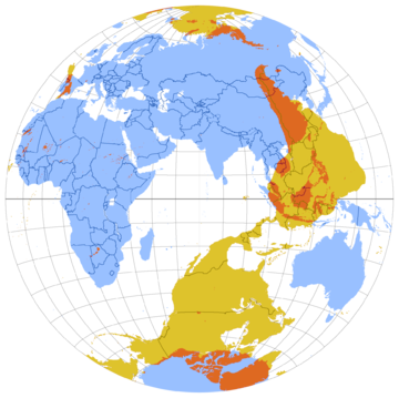 Antipodes wikipedia this map shows the antipode of each point on earths surfacethe points where the blue and yellow overlap are land antipodesmost land has its antipodes in gumiabroncs Images