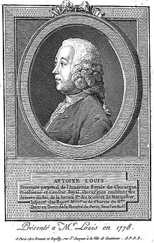 alt=Description de l'image Antoine Louis.jpg.
