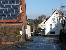 Ortsstraße in Zirndorf