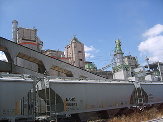 Apaxco - Holcim cement factory in Apaxco (2007)