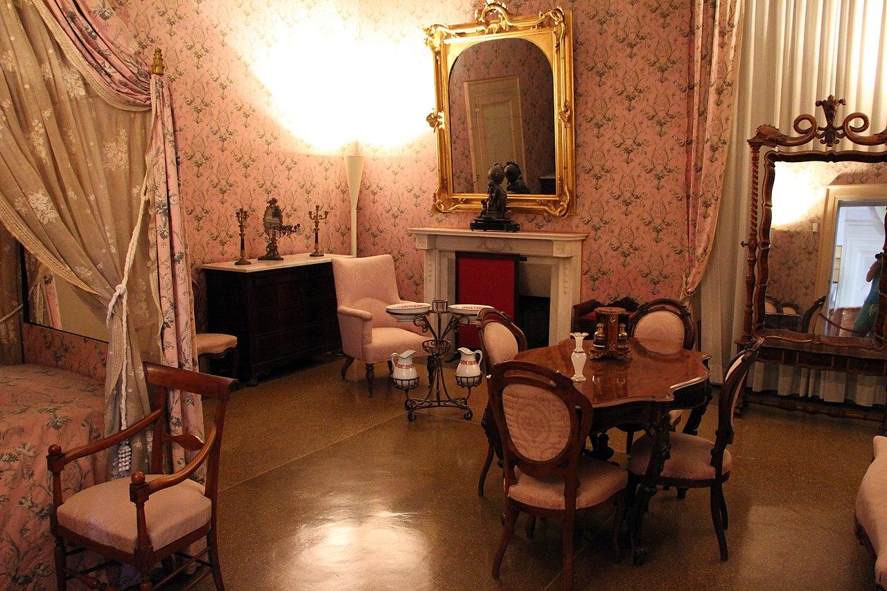 File appartamento di elisa o della contessa di mirafiori for 6 piani di camera da letto 6 bagni