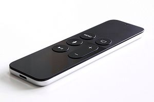 Apple TV - Image: Apple tv gen 4 remote