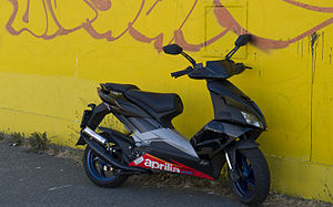 Aprilia SR50 - Aprilia SR50 R Factory, the latest model