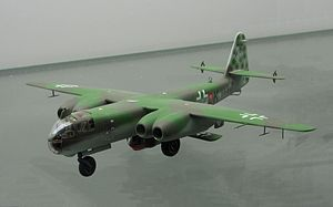 Arado Ar 234 - Model of an Arado Ar 234 V21 carrying an Arado E.381 at the Technikmuseum Speyer