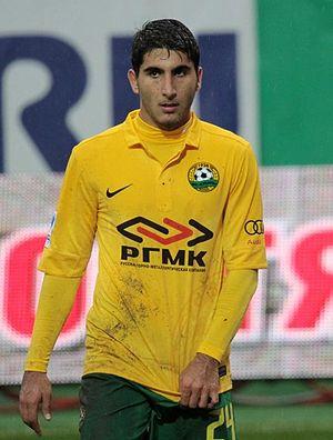 Aras Özbiliz - Özbiliz with FC Kuban in 2012