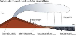 Archean felsic volcanic rocks