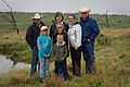 Archer County Rancher Doug Dunkel (far left) and family. (25116933295).jpg