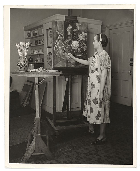 File:Archives of American Art - Isabel Bate - 1955.jpg