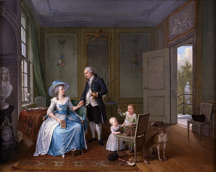 File:Arent Anthoni Roukens and family, by Willem Joseph