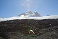 Argentina - Mt Tronador Ascent - 10 - our campsite at the refugio (6962302597).jpg