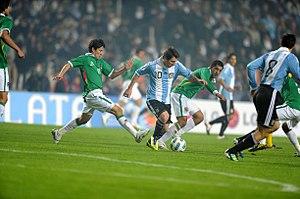 2011 Copa América - Opening game: Argentina v. Bolivia.