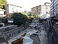 Arimagawa River from Taikohashi Bridge 20141008-1.JPG