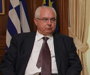 Aristos Kasmiroglou - Aristos Kasmiroglou, civil governor of the Autonomous Monastic State of Mount Athos since 2010.