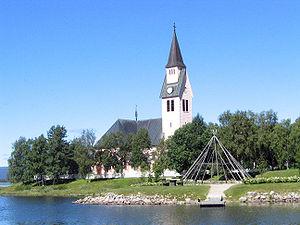 Arjeplog Municipality - Arjeplog church.
