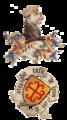 Armorial Guillaume Revel 1450 Forez Eustache de Levis.png