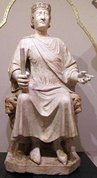 Carlos de Anjou por Arnolfo di Cambio.