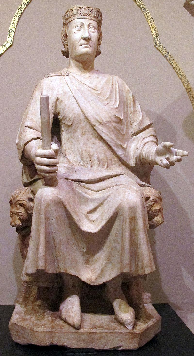 Arnolfo di cambio, monumento a carlo I d'angiò, 1277 ca. 03.JPG