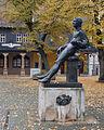 Arnstadt Denkmal des jungen Johann Sebastian Bach.jpg