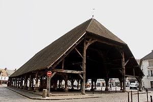 Arpajon - The Covered Market