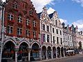 Arras hôtel des 3 Luppars et façades voisines.jpg