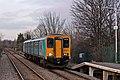 Arriva Trains Wales Class 150, 150253, Neston railway station (geograph 3800446).jpg