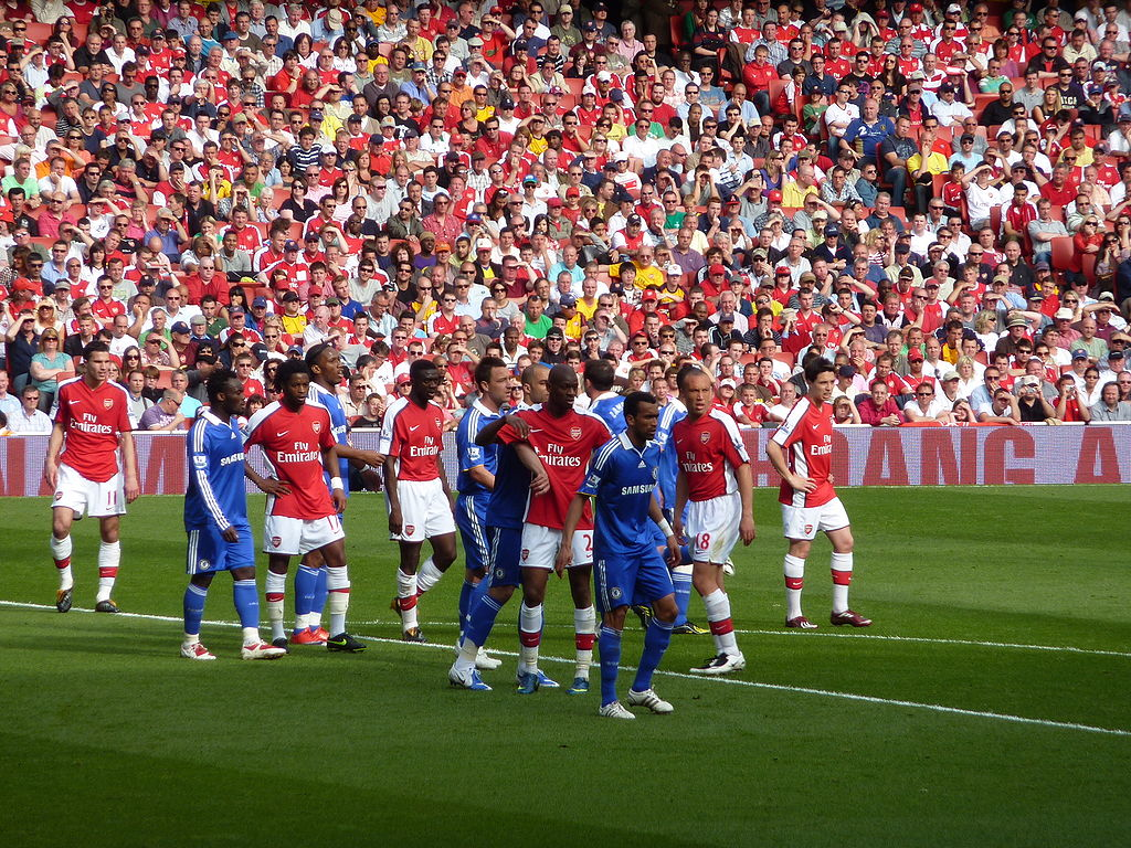 Image Result For Chelsea Vs Arsenal At What