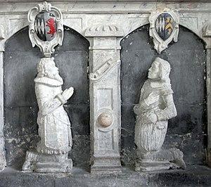 John Giffard (1602–1665) - Image: Arthur&John Giffard Chittlehampton 1625