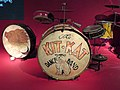Arthur Rosebery, The Kit Kat Dance Band drum kit, at Two Temple Place, Astor House.jpg