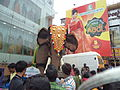 Artificial Elephant at Ganapati Silks Coimbatore.JPG