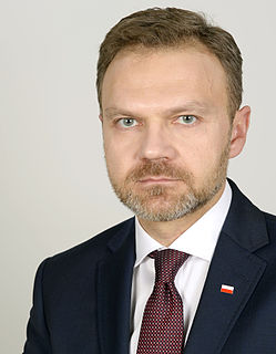 Artur Warzocha Polish politician