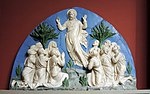 Ascension by Luca della Robbia from S. Sacristia of S. Maria del Fiore (casting in Pushkin museum) by shakko 01.jpg