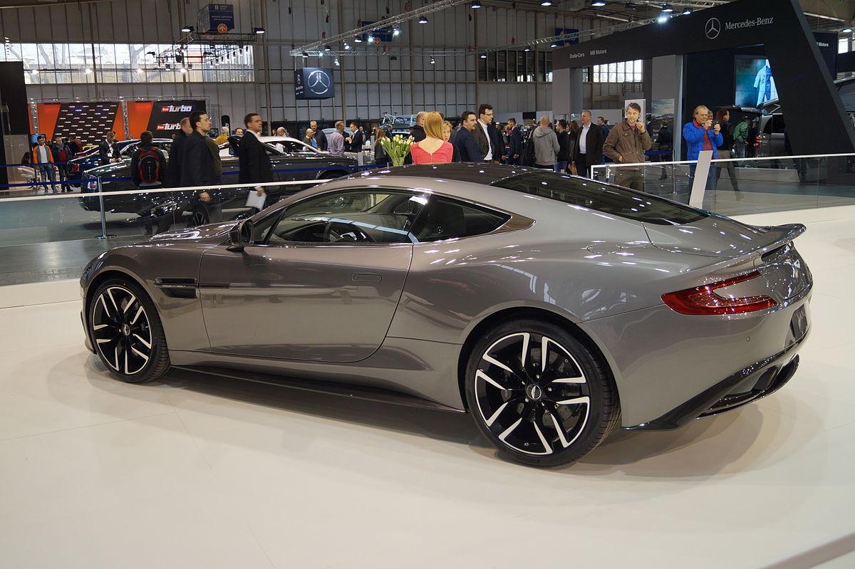 File Aston Martin Vanquish Tył Msp15 Jpg Wikimedia Commons