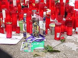 Homenaje realizado a las víctimas de los atentados. Wikipedia